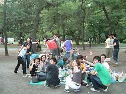 野島公園にて