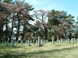 現在の幸畑陸軍墓地