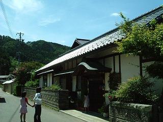 中山晋平の生家