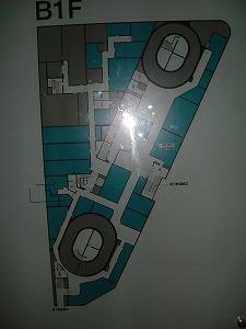 日比谷パークビルB1フロア図