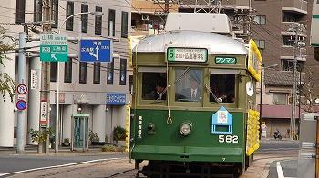 広島電鉄のチンチン電車