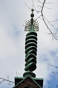 山陽文徳殿の法輪