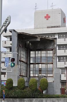 広島赤十字病院 被爆モニュメント