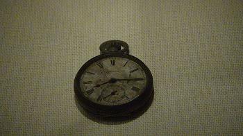 原爆資料館で見た時計