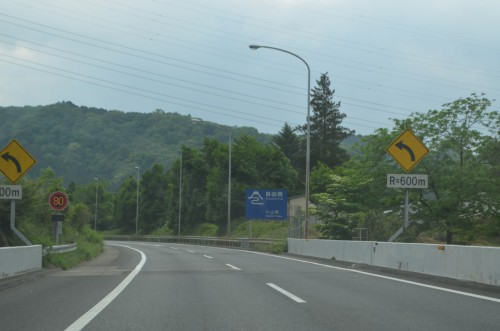 東名下り右ルート 静岡県境