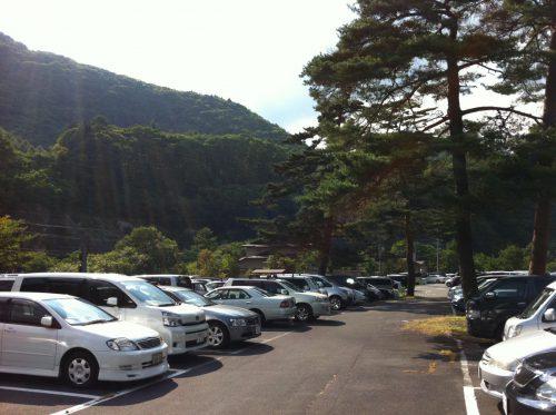 沢渡第二駐車場