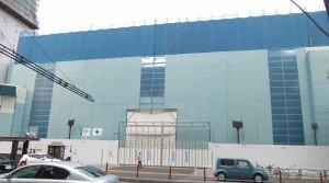 歌舞伎座解体中