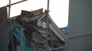旧歌舞伎座大屋根