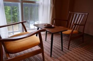 高瀬館 テーブルセット