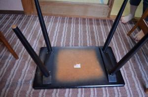 高瀬館のテーブルセット