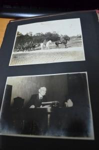 祖父のアルバムの昭和天皇