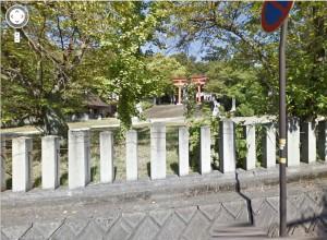 藤島神社ストリートビュー