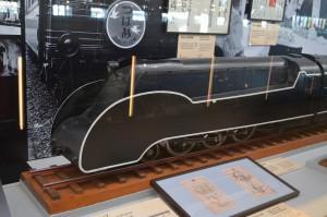 C55型機関車の流線型
