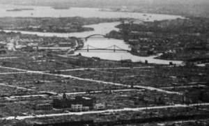 1945年 清州橋と永代橋