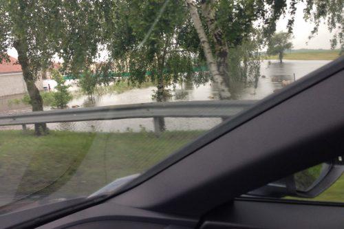 フランス洪水 セルコット付近