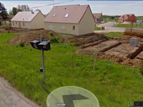 Googleセルコットの同一地点 2011年