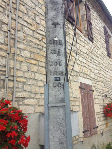 フランス電柱 はしご型タイプ2