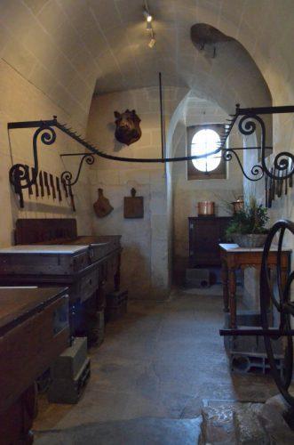 シュノンソー城の台所