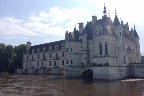 フランス洪水 シュノンソー城