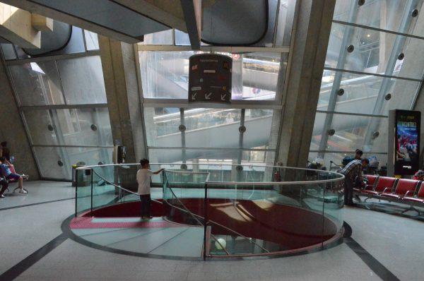 シャルル・ド・ゴール空港第一ターミナル中庭