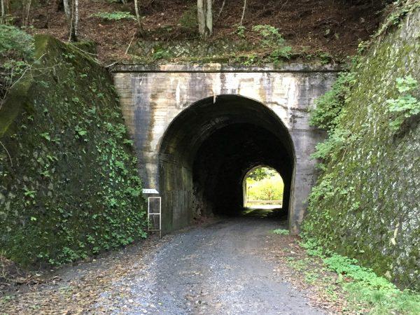 中津川林道 一号トンネル