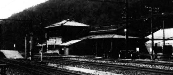 土合駅(昭和15年頃)