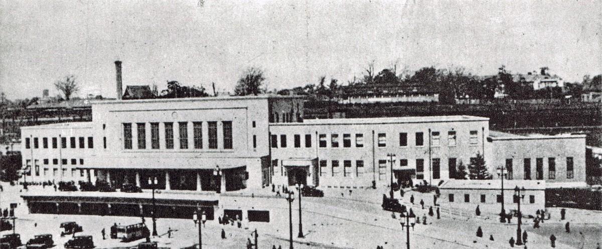 上野駅(昭和7年頃)